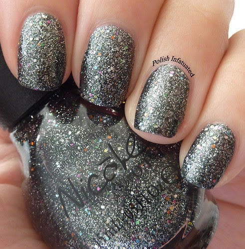 Does Glitter Nail Polish Last Longer: Nicole By OPI: Follow Me On Glitter