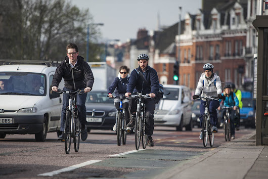 'Why do cyclists ride in the middle of the road?' - you asked Google, and we've got the answer - Cycling Weekly