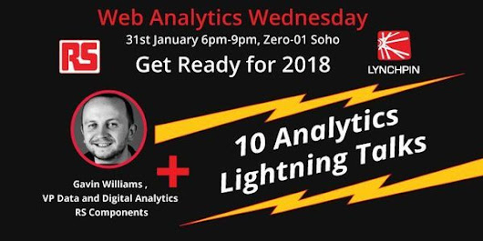 Get Ready for 2018 - RS Components Story & Data Analytics Lightning Talks
