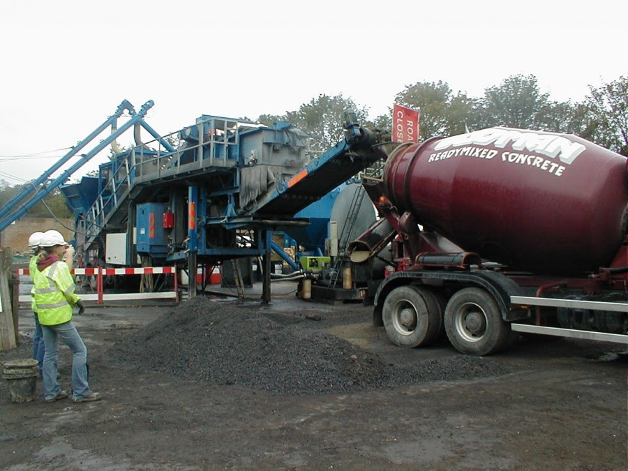 Cement Bound Materiallean Mix Concrete Mixing Bg Europa
