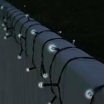 Pure Garden 50-119 39 ft. Solar LED String Lights - 100 LED Lights