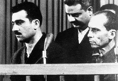 In court in Syria, 1965. (Photo: AFP)