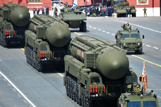 Vladimir Putin Russia Nuclear NATO World War 3