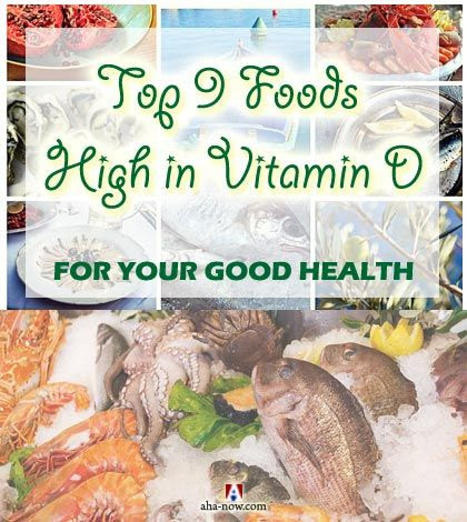 Top 9 Foods High in Vitamin D for Good Health | Aha!NOW