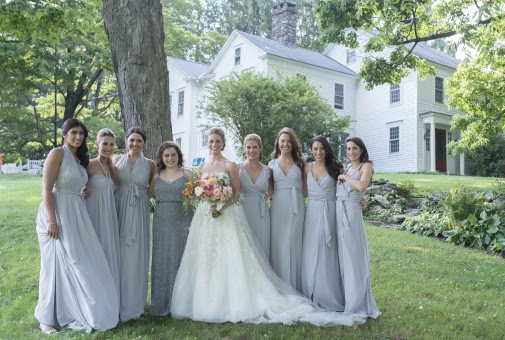 Romantic New England Summer Wedding | Katrina Hess Makeup Studio