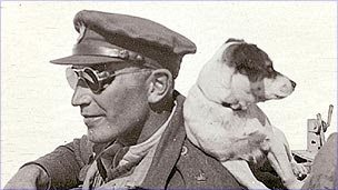 Paddy Mayne and his dog