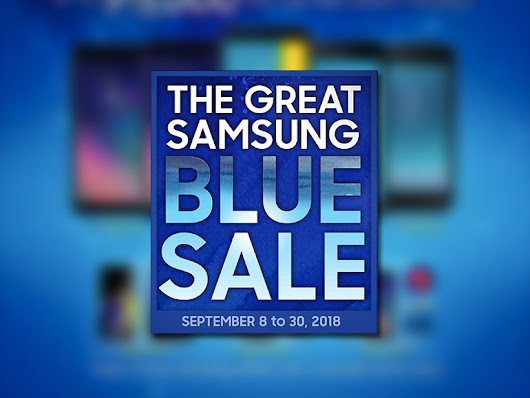 Sale alert: Get big discounts at the Great Samsung Blue Sale - Technobaboy Philippines