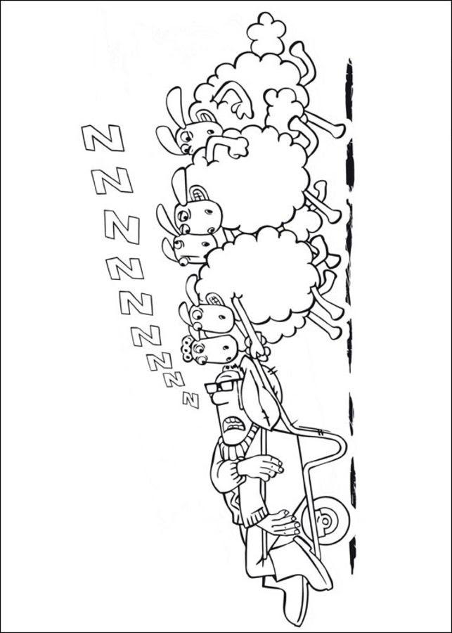 Ausmalbilder: Shaun das Schaf zum ausdrucken, kostenlos ...