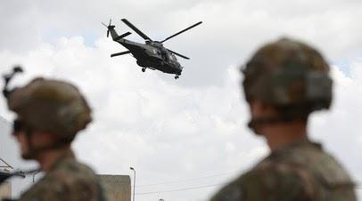 SHAFAQ News: военная база США на иракско-кувейтской границе подверглась обстрелу