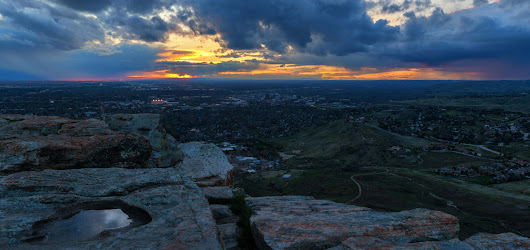 Sunset At Table Rock | In The Viewfinder