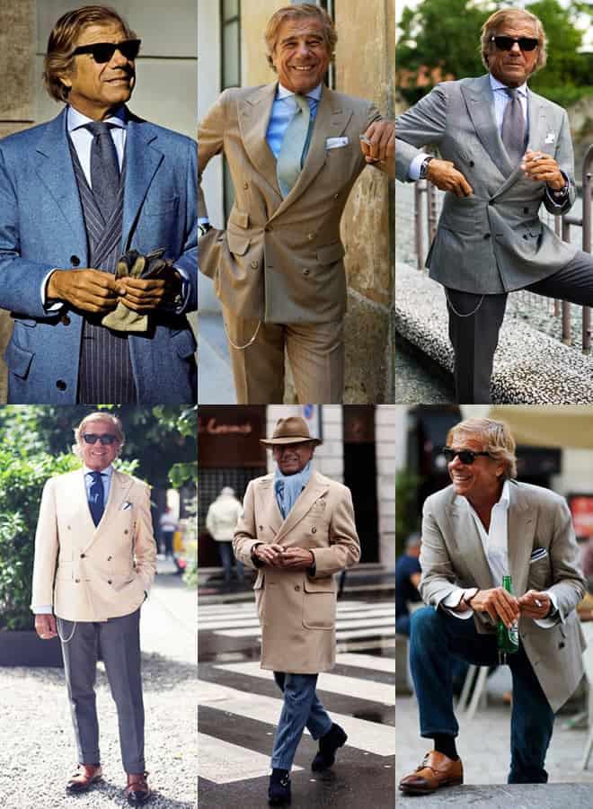 Lino Ieluzzi Style Lookbook