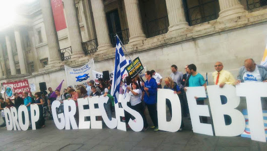 Why I'm standing with Greece in Trafalgar Square this evening