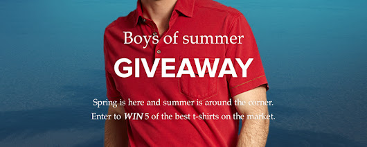 Boys of Summer Giveaway