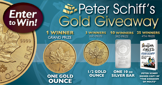 Peter Schiff's Gold Giveaway