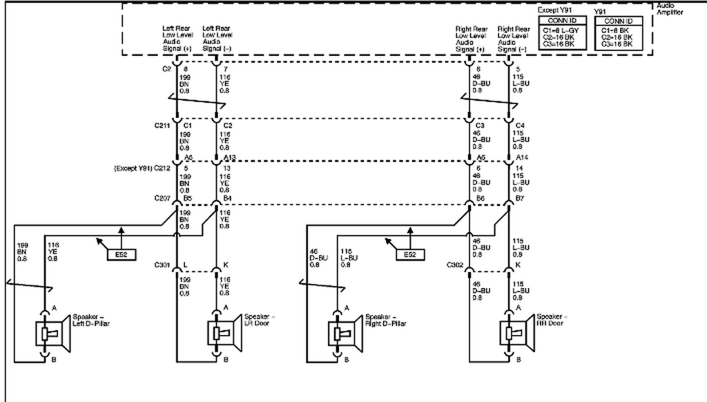 Schematics And Diagrams  2007 Chevrolet Tahoe Z71  Radio