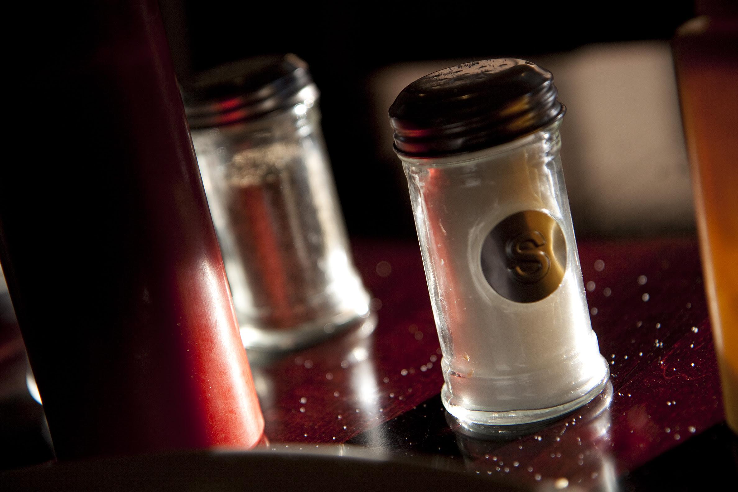 shaker of salt