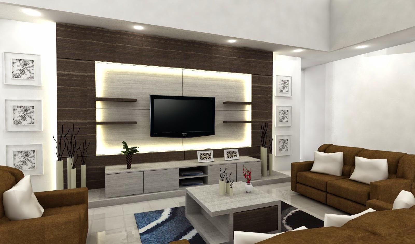 Desain Ruang Keluarga  Minimalis  3 Desain Rumah Minimalis