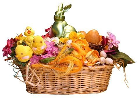 Easter Basket PNG Transparent   PNG Mart