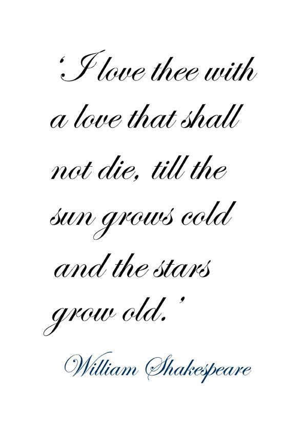 Most Famous William Shakespeare Quotes & Sayings