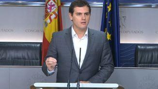 El líder de Ciutadans, Albert Rivera