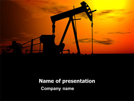 Oil Producer Presentation Template For Powerpoint And Keynote Ppt Star
