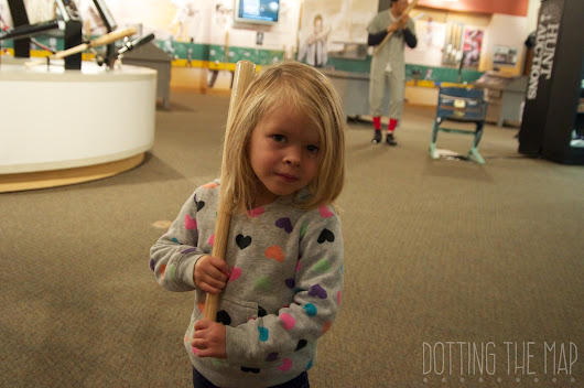 Louisville Kentucky With Kids| Louisville Slugger Museum and Factory