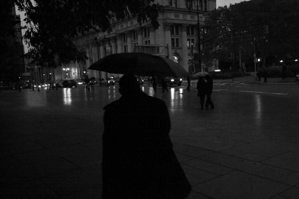 Rain shadows
