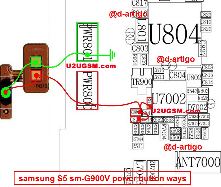 samsung galaxy s5 power button not working replacement repair