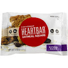Corazonas Heartbar Oatmeal Raisin Oatmeal Square Bar - 72 pack, 1.76 oz each