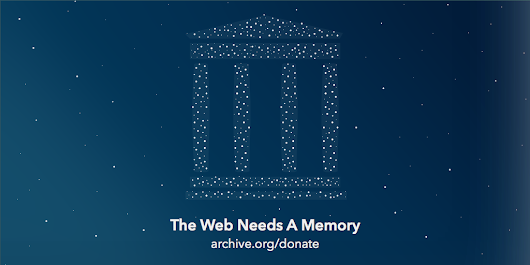Help Us Keep the Archive Free, Accessible, and Private | Internet Archive Blogs