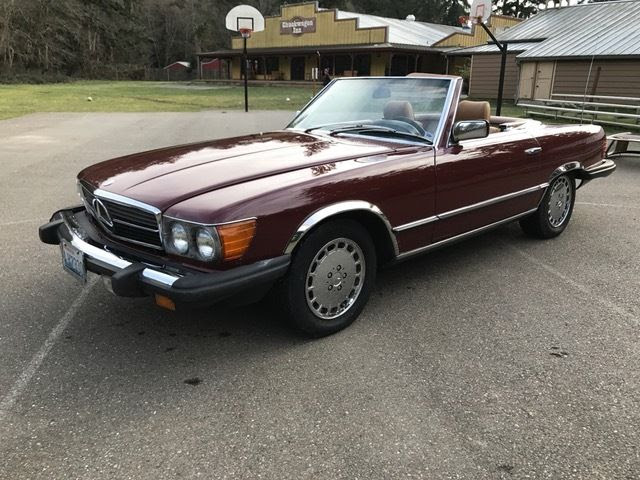 Mercedes 380SL Convertible for sale - Mercedes-Benz 300-Series SL 1984 for sale in Port Orchard ...