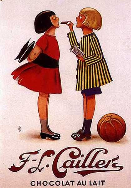 Chocolat Caillers by Monogramme (1930)