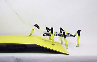 Insect-Like Arthrobots Made of Drinking Straws | Device Plus