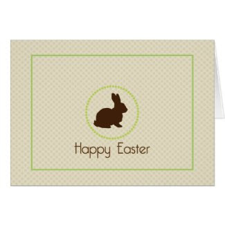 Happy Easter Bunny Card card