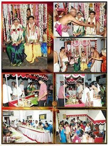 Brahmin Marriage Contractor   Wedding Catering Services