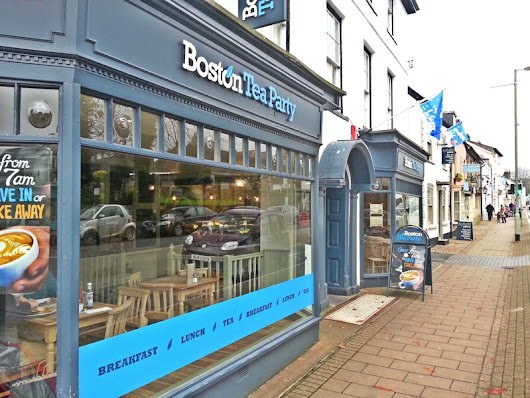 Boston Tea Party Honiton - Devon – UK - Best Little Coffee Shops
