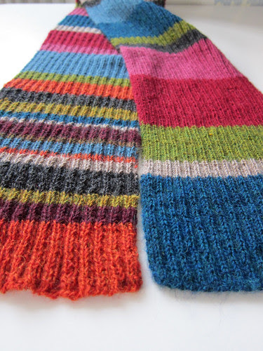 Dr Whoish scarf