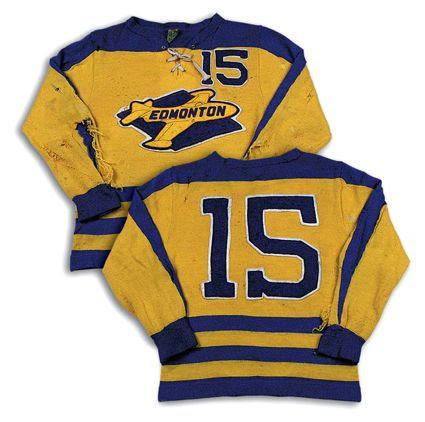 Edmonton Flyers 54-55 jersey, Edmonton Flyers 54-55 jersey