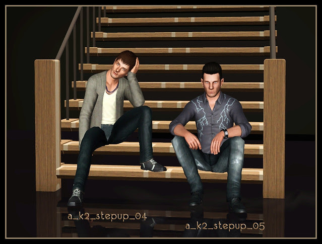 Step Up - Poses 04+05