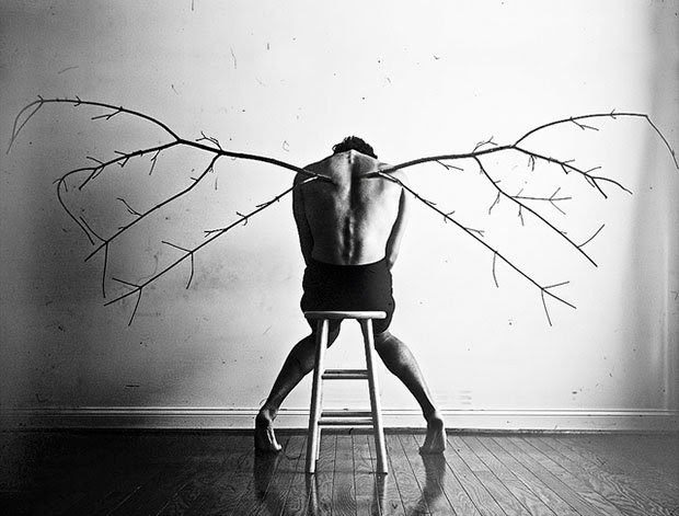 Photographer Creates Emotive Images to Help Cope with Depression wings