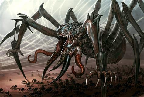 Spider demont by Davesrightmind on DeviantArt