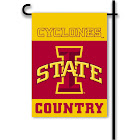 NCAA 2-Sided Country Garden Flag: Iowa State Cyclones