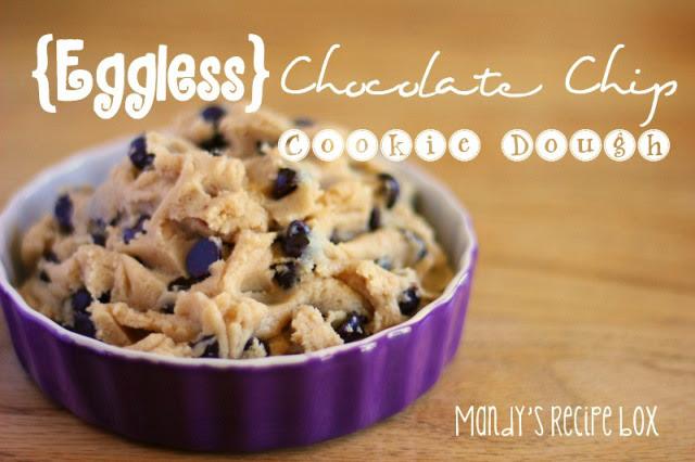 {Eggless} Chocolate Chip Cookie Dough | Mandy's Recipe Box