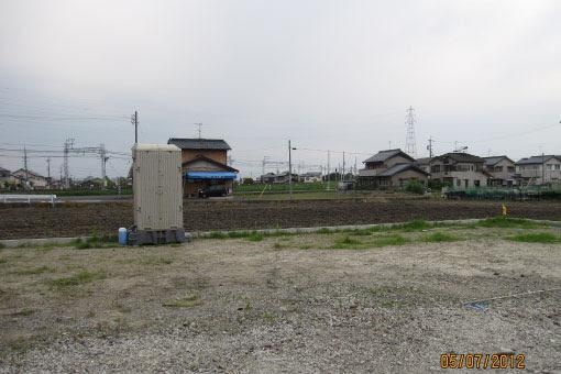 線路沿いの家3