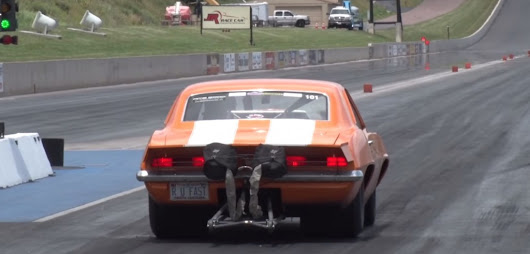 3,100-Horsepower Chevrolet Camaro Z/28 Gets Stuffed With Rocks: Video