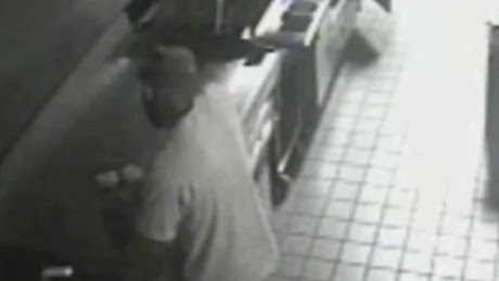 Burglar takes burgers, not money