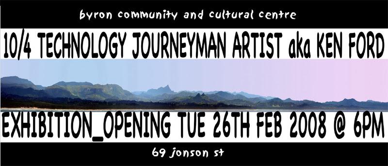 10/4 Technology Journeyman Artist @ BCCC
