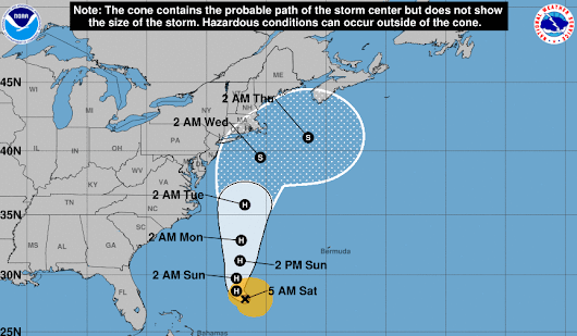 Hurricane Jose Threatens New York City