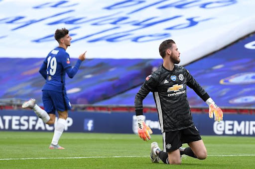 Avatar of Chelsea tops Man United after David de Gea's gaffes, will face Arsenal in FA Cup final (video)