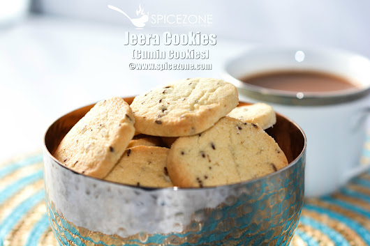 Jeera Cookies (Cumin Cookies) - The Spice Zone